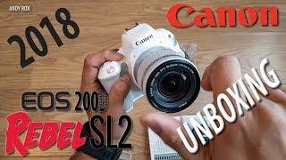 Video Best budget DSLR Camera UNBOXING | Canon Rebel SL2 (200D) download MP3, 3GP, MP4, WEBM, AVI, FLV November 2018