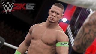 WWE 2k15 John Cena 2004-2005 vs Roman Reigns HELL PC