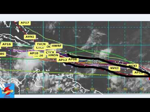 Tropical Update Invest 90L & 99L both a Caribbean Threat. August 6 2017