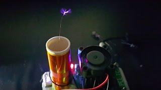 Singing mini tesla coil
