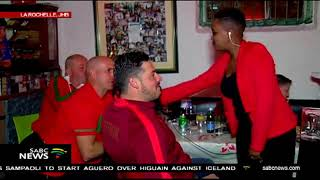 UPDATE: Supporters enjoy Portugal vs Spain FIFA World Cup 2018 clash