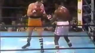 Larry Holmes vs Tex Cobb - 1/4