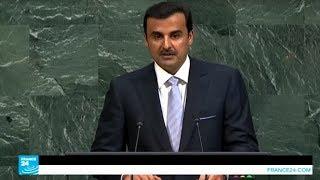 أمير قطر يدعو لوقف العنف ضد أقلية الروهينغا وحمايتهم