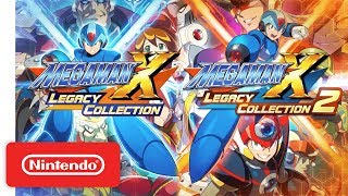 Mega Man X Legacy Collection 1 + 2 Launch Trailer - Nintendo Switch