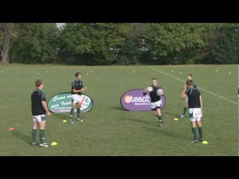 London Irish Rugby Club: Skill Of The Week - Continuous Offload
