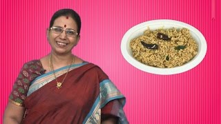Kovil Puliyodharai | Mallika Badrinath Recipes