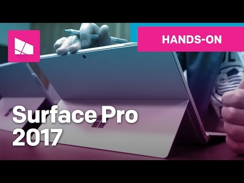 Thumbnail: Microsoft Surface Pro (2017) hands-on - NEW!