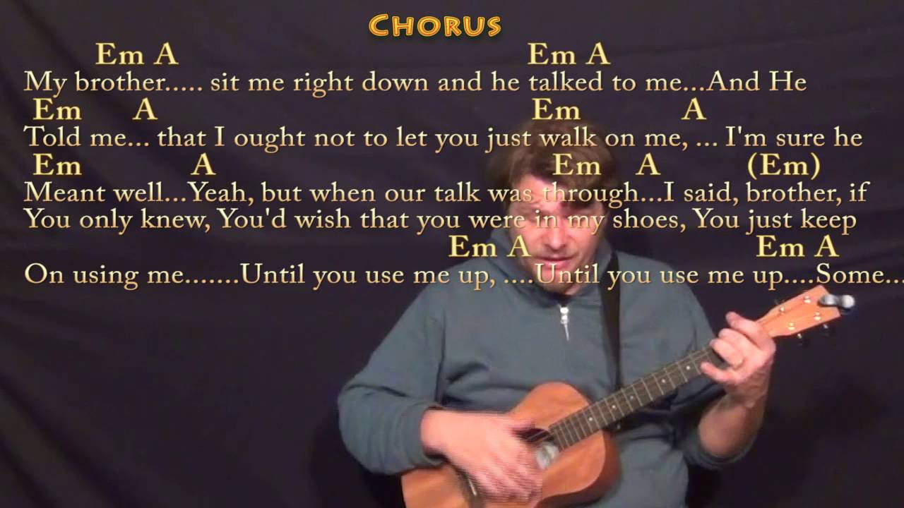 Use me bill withers bariuke cover lesson with chordslyrics use me bill withers bariuke cover lesson with chordslyrics hexwebz Choice Image
