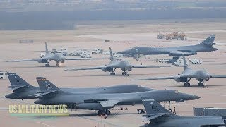 US B-1 Bombers Ready if Called Upon By President Trump