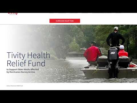 Tivity Health Hurricane Relief Fund