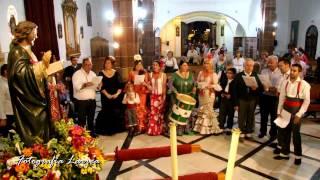 """El Coro """"Flor de Jara"""" cantando a Santiago el Menor - Pedro Abad"""