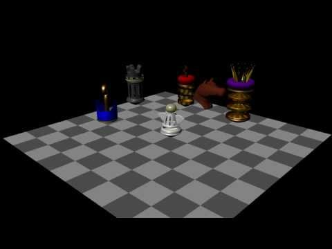 chess board animation digital media 1