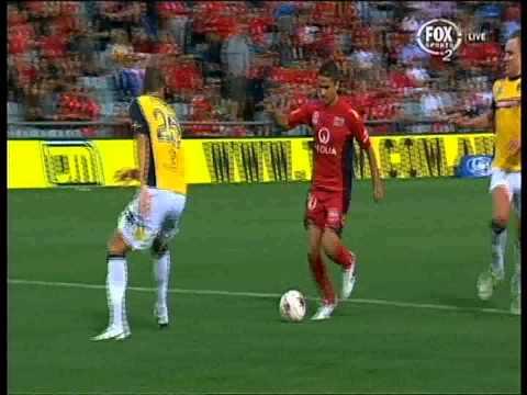 Fabio Ferreira Goal Adelaide United Vs Central Coast Mariners