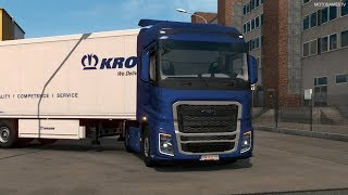 Euro Truck Simulator 2 - Ford Trucks F-MAX Customization and Gameplay [MOD]