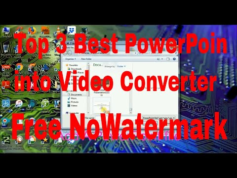 Top 3 Best PowerPoint To Video Converter | Offline Software