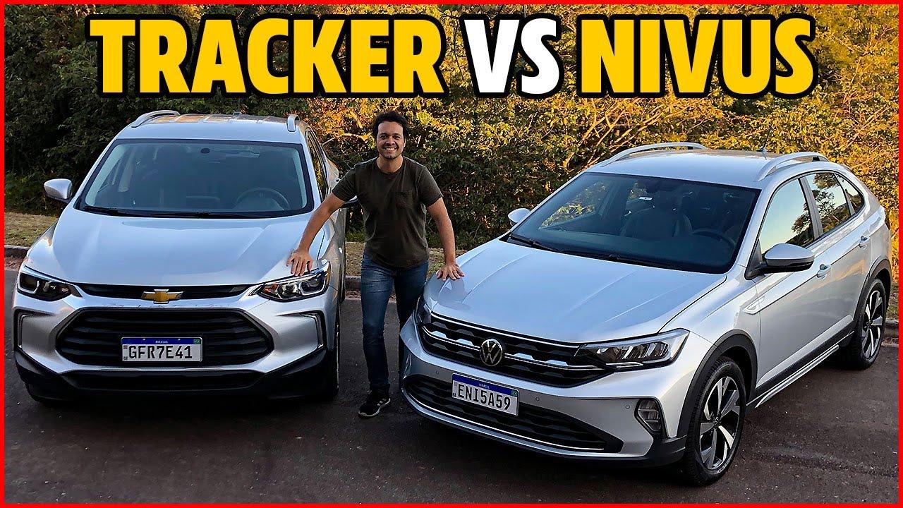 Comparativo: VOLKS NIVUS versus TRACKER LT. Qual é o MELHOR SUV 1.0 turbo de R$ 100 mil?
