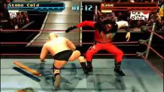 WWF/WWE Smackdown - Part 1 - Season Mode With Stone Cold Steve Austin (PS1)
