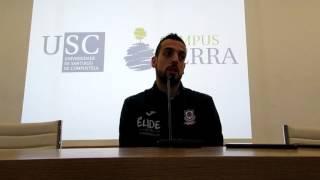 Video Salva Arco rueda de prensa previa al Oviedo - Cafés Candelas