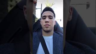 Devin Booker Driving His Ferrari And Sees A Fan On The Road Crazy Instagram Story Youtube