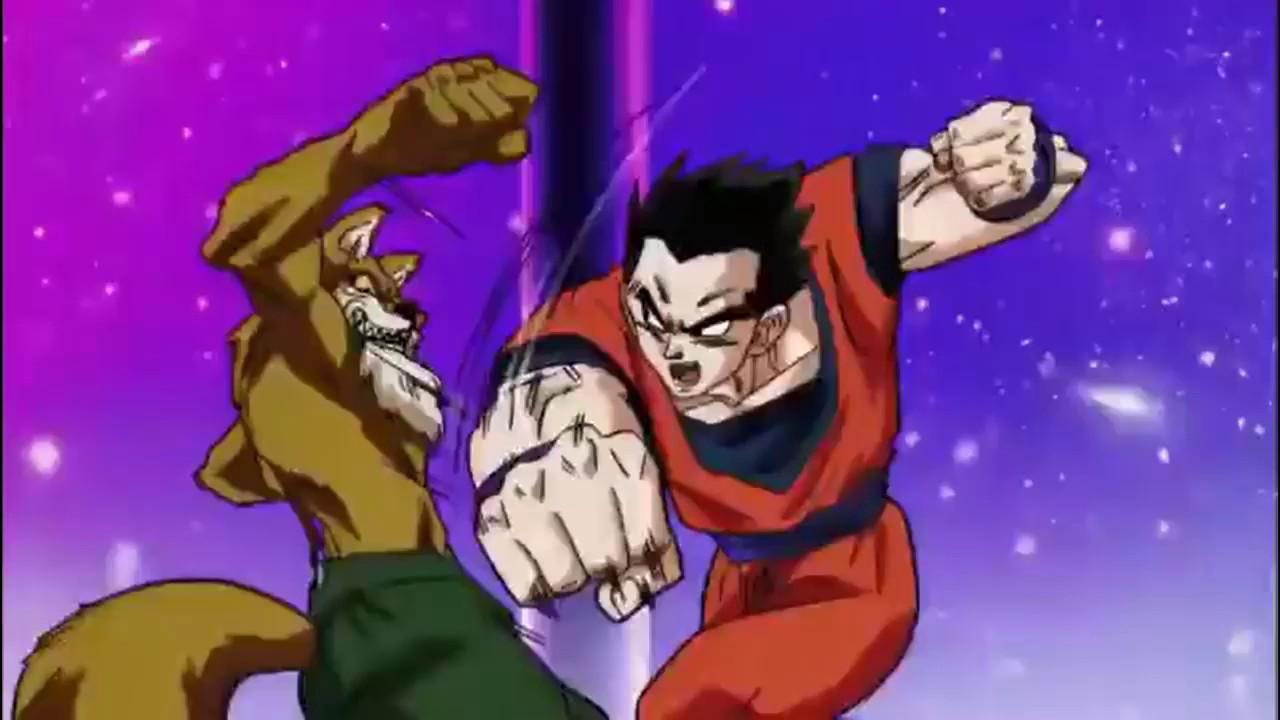 Dragon Ball Super Gohan vs Lavender (Gohan is poisoned and blinded by Lavender) (EPIC) - YouTube