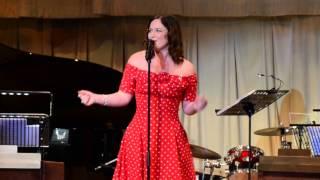 Hallelujah I Love Him So-  Jennifer Burman - Cunard's 175 Anniversary Ball - Queen Victoria