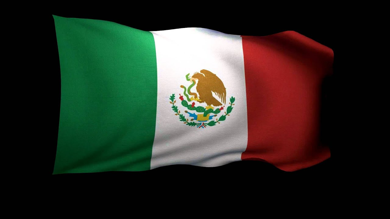3d rendering of the flag of mexico waving in the wind youtube