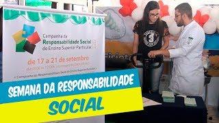 SEMANA DA RESPONSABILIDADE SOCIAL