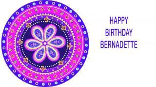 Bernadette   Indian Designs - Happy Birthday