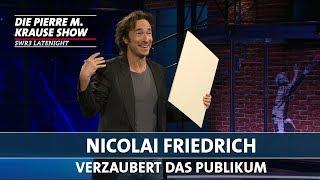 Nicolai Friedrich verzaubert das Publikum