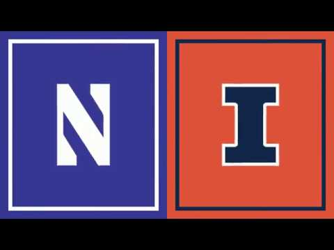 First Half Highlights: Illinois at Northwestern | Big Ten Football