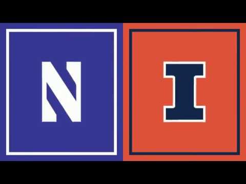 First Half Highlights: Illinois at Northwestern | Big Ten Football