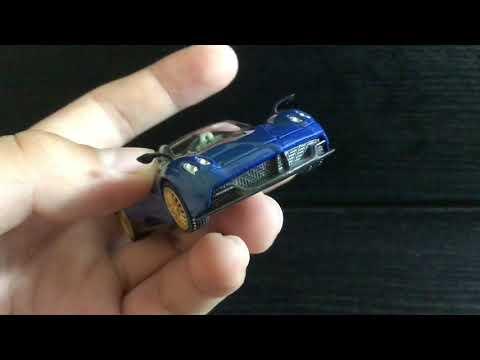 Mini GT Unboxing - Pagani Huayra Roadster