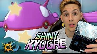 EPIC SHINY LEGENDARY KYOGRE LIVE REACTION - Pokemon Ultra Sun And Ultra Moon Live Shiny Reaction