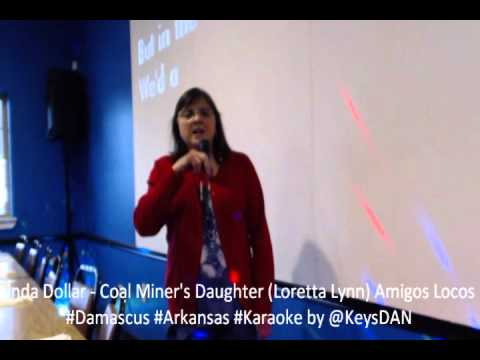 Linda Dollar   Coal Miner's Daughter Loretta Lynn Amigos Locos #Damascus #Arkansas #Karaoke by @Keys