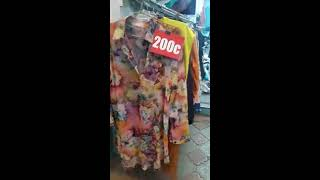 Видео Распродажа блузки, туники, рубашки от 200 рублей