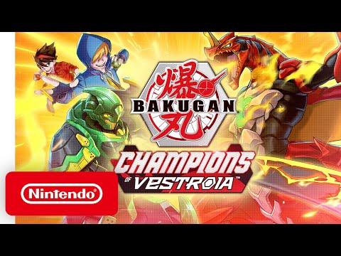 Bakugan: Champions of Vestroia - Announcement Trailer - Nintendo Switch