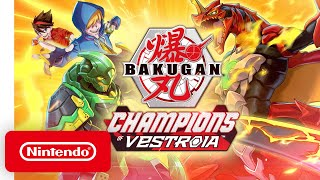 Bakugan: Champions of Vestroia - Announcement Trailer - Nintendo Switch