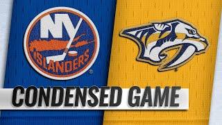 10/13/18 Condensed Game: Islanders @ Predators
