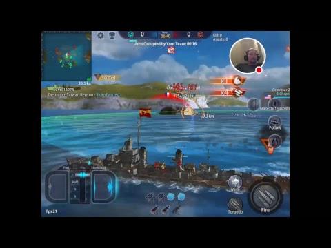 Warship Rising 5 star naval base ? woot !!!
