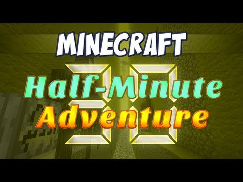 Minecraft Adventure Map - Half Minute Adventure