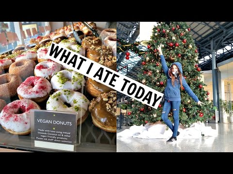 What I Ate/Did Today In Dublin! Christmas Shopping & Vegan Donuts