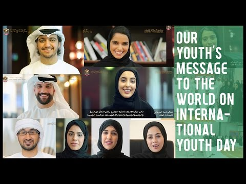Our Youth's message to the World on International Youth Day