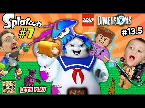 Consente parte del gioco Splatoon 7 e dimensioni lego # 13.5: Splatter Master