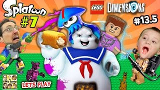 Lets Play SPLATOON Part 7 & LEGO Dimensions #13.5:  Splatter Master & Double Ghostbusters Boss Fight