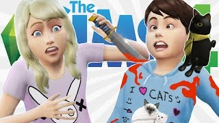 MURDER MYSTERY IN SIMS 4?! | The Sims 4 (Kids!)