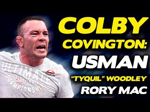 "Colby Covington Shuts Down Kamaru Usman's ""Fake News"" Claims, Puts ""Tyquil"" Woodley on Blast"