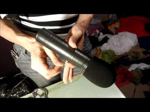 De Hacer Mano Bency Youtube Un Como Microfono jRL34A5