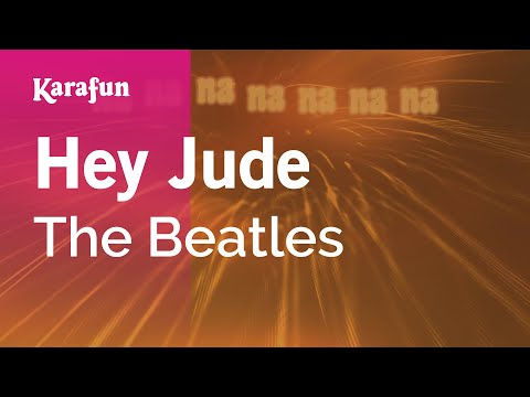 Karaoke Hey Jude - The Beatles *