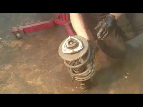 How to Fix & Replace Front Struts, CV Axle, and Right Front Outer Swaybar Link