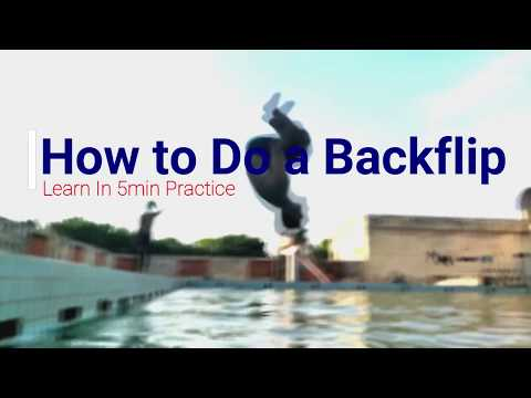 How To Do A Backflip In Water -